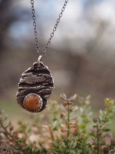 Primal Earth Lite Fossilized Coral Necklace