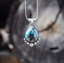 Whitewater Turquoise w/ Pyrite Necklace