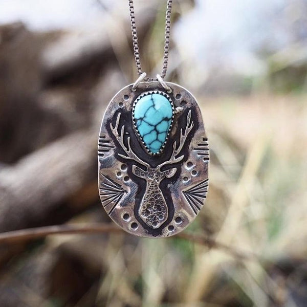 Stag Totem Hubei Turquoise