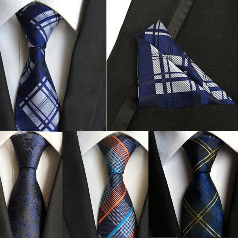 (1pieces/lot) 100% Silk tie set Mens Neck Tie Pocket Square Set 2016eosegal-eosegal