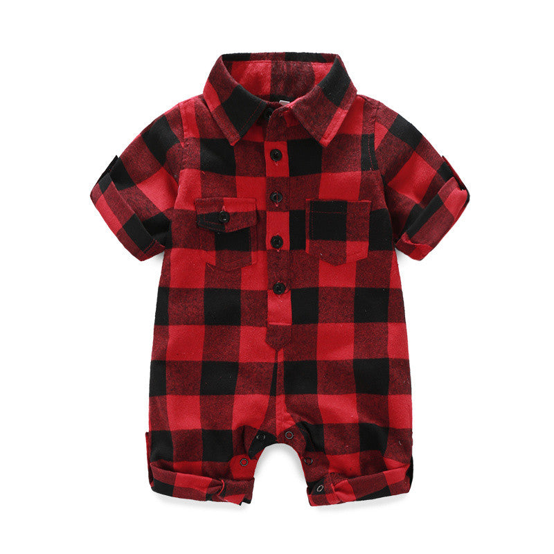 Fashion Newborn rompers bebes Baby boy Romper branded Newborn baby clothes doll long Sleeve Baby boy Clothes +hat-eosegal
