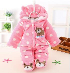 BibiCola winter Infant clothes children clothing set cartoon soft cotton warm thick baby boys girls clothes suit newborn outfits-eosegal
