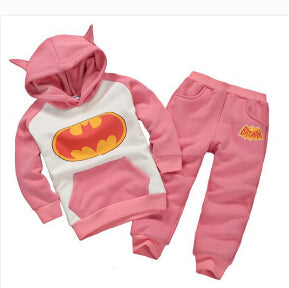 batman set baby boys clothing set children hoodies pants thicken winter warm clothes boys girls sets 2018 autumn new arrival-eosegal