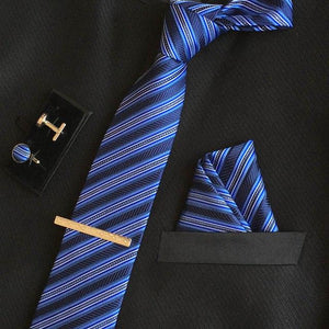 men 8cm fashion brand luxury necktie pocket square wedding mens pinkeosegal-eosegal