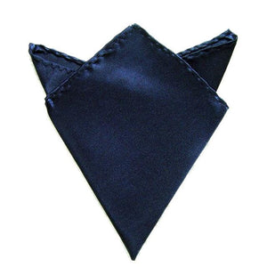 New 26 Colors Men's Hanky Satin Solid Plain Suits Pocket Square Weddingeosegal-eosegal