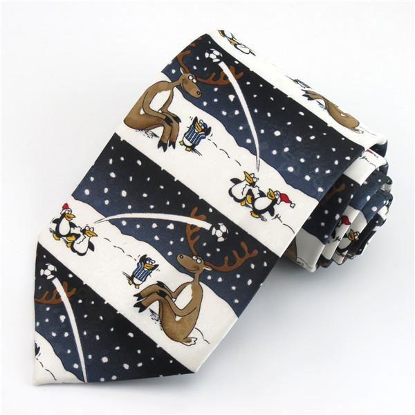 8cm Brown Ties For Men Novelty Cartoon Necktie Corbata Wedding Party Gravataeosegal-eosegal