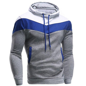 New 2016 Mens Hoodies and Sweatshirts Patchwork Hoodies Men Brand Fashion Men'seosegal-eosegal