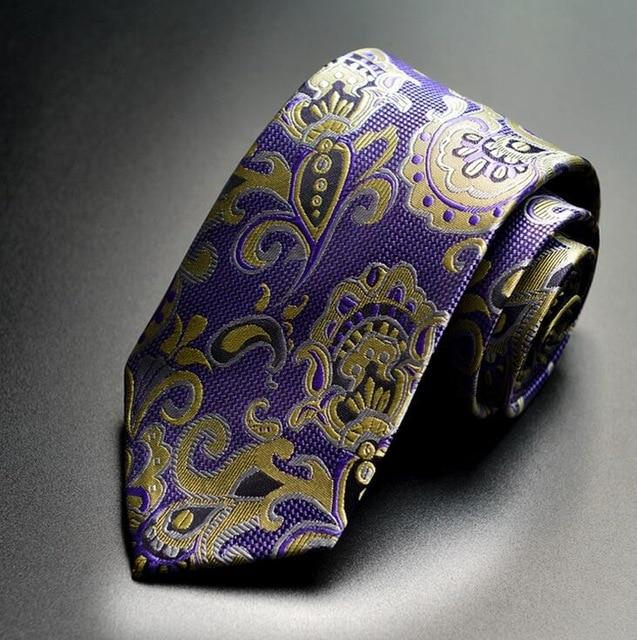 New Arrivel Paisley Ties For Men Classic Silk Jacquard weave Wedding Neckeosegal-eosegal