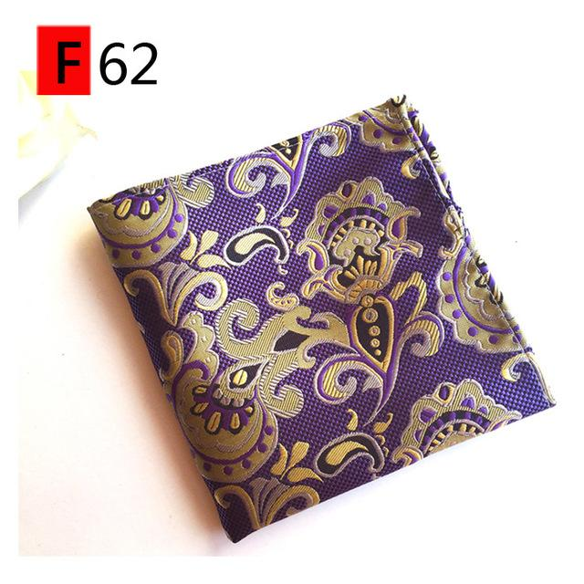 Handkerchief Pocket Square for Women Fashion Vintage Floral Pocket Towel Maleeosegal-eosegal