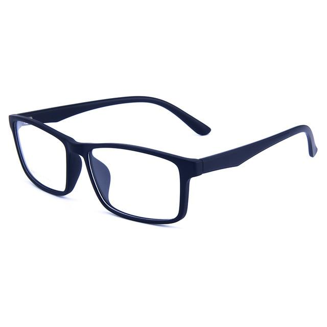 Business Casual Rectangular Superlight TR90 Full-Rim Optical Frame Spectacle For Men andeosegal-eosegal