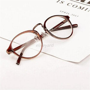 Fashion Men Women Retro Nerd Glasses Clear Lens Eyewear Unisex Retro Eyeglasseseosegal-eosegal