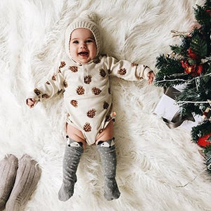 100% Cotton Baby Bodysuit Autumn Newborn Cotton Body Baby Long Sleev One Piece Bodysuit Infant Boy Girl Pajamas Clothes DS26-eosegal