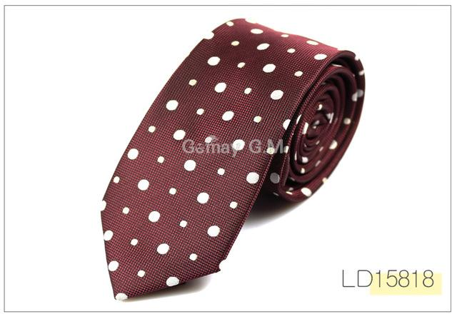 New Fashion Formal Commercial Neck Tie For Wedding Classic Striped Jacquard Weddingeosegal-eosegal