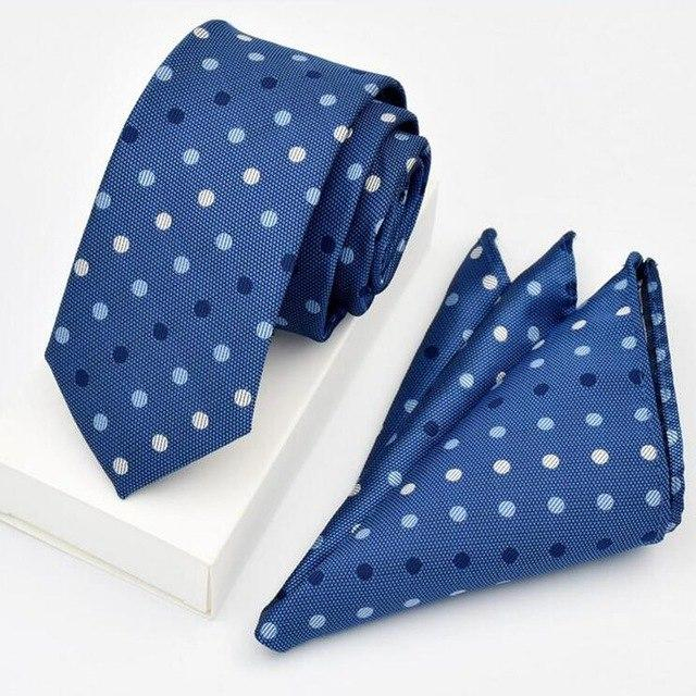 New Quality Tie Set For Men Hanky Tie Sets Dot Stripedeosegal-eosegal