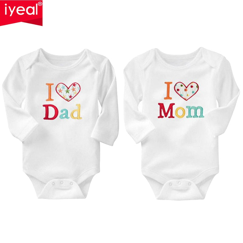 IYEAL Newborn Baby Clothing Long Sleeve Cotton Embroider Baby Rompers Girls Boys Clothes roupas de bebe Infantil Costumes 0-18M-eosegal