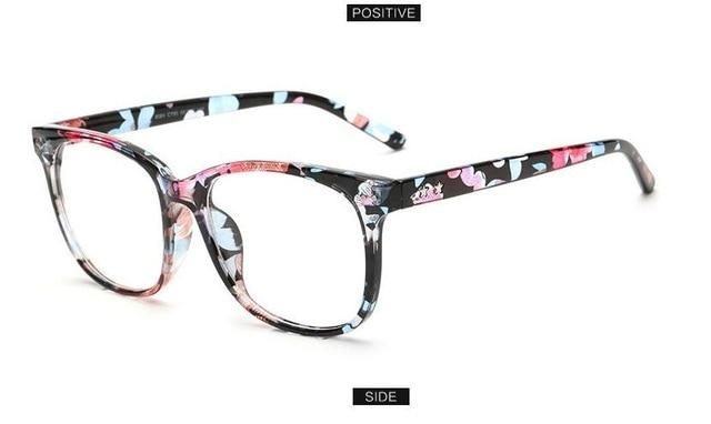 Square Women Eyeglasses Spectacle Frame Female Optical Reading Computer Eye Glasseseosegal-eosegal