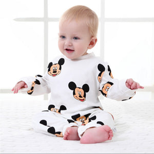 Newborn Baby Clothes Cartoon Baby Rompers Long Sleeve Baby Girls Clothing Spring Baby Boy Jumpsuits Roupas Bebes Infant Costume-eosegal