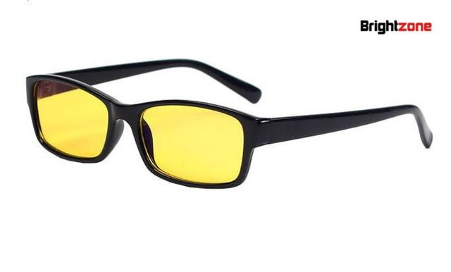 New Arrival Men Women Anti-Radiation/UV/Fatigue/Blue Light Blocking Computer/Gaming Eye Glasses Yellow Indooreosegal-eosegal