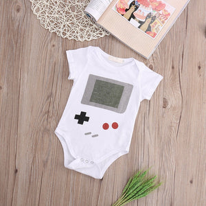 Newborn Baby Clothes Short Sleeve Girl Boy Clothes Design 100% Cotton Baby Rompers de bebe costumes-eosegal
