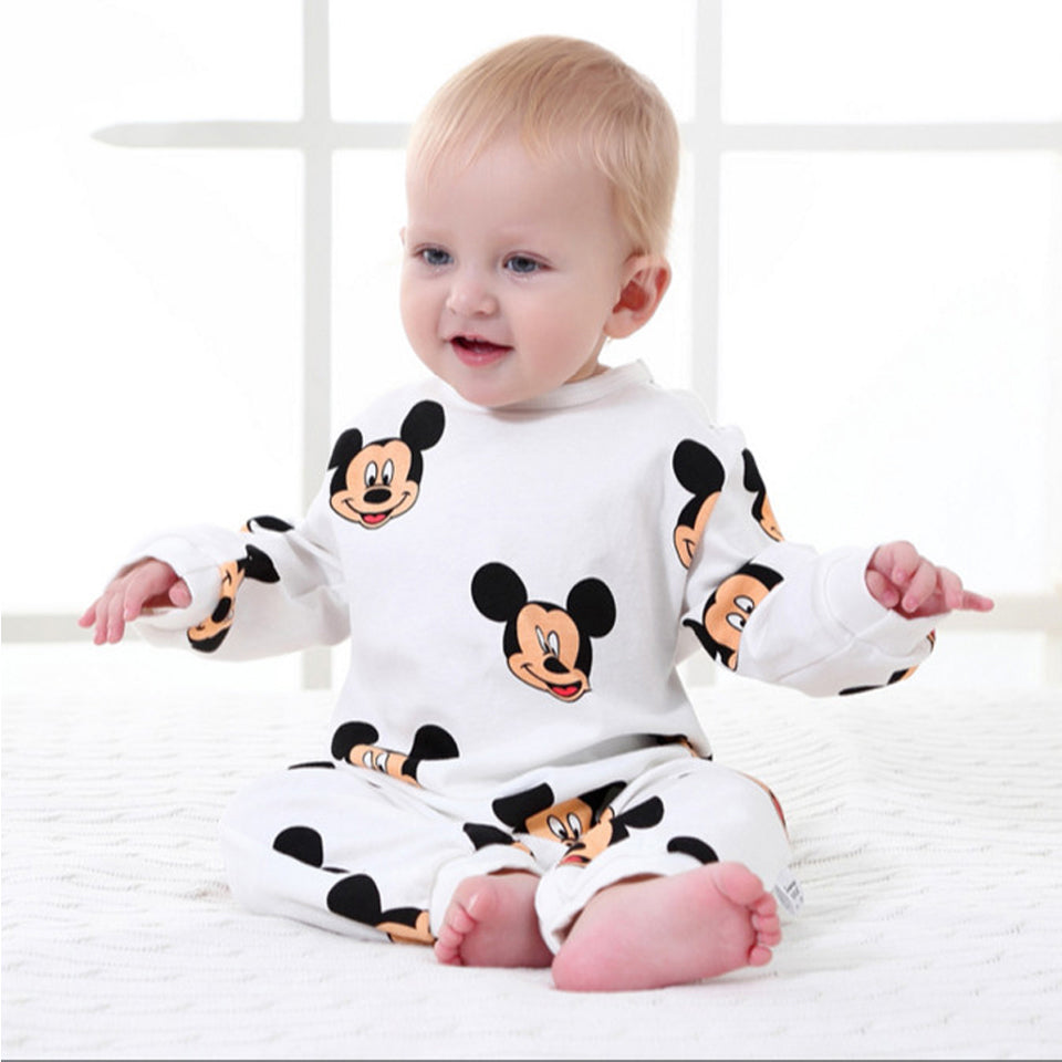 Baby Rompers Spring Autumn Cartoon Baby Clothes Cotton Long Sleeve Kids Jumpsuits Boys Girls Rompers Outfits Baby Girls Clothes-eosegal