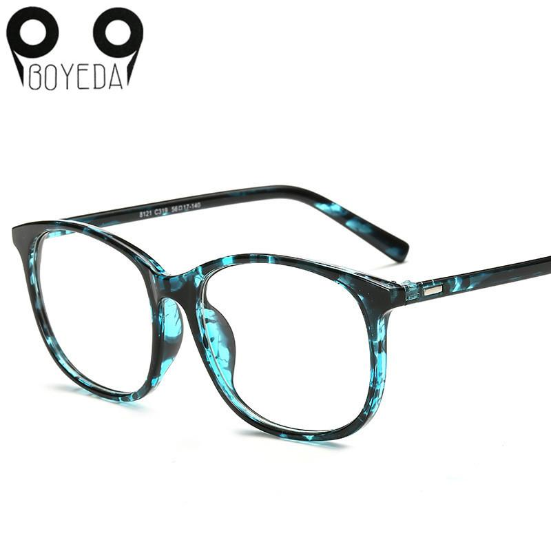 New Vintage Retro Round Eyeglasses Men Fashion Computer Transparent Eye Glasseseosegal-eosegal