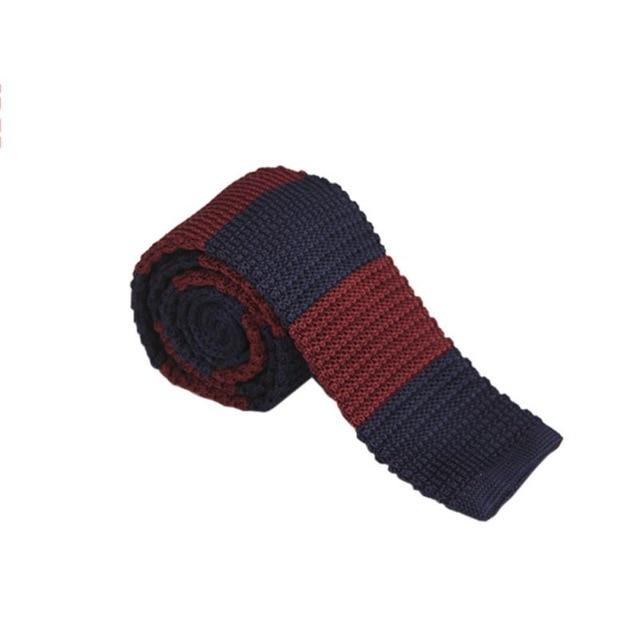 20 Colors Men Boys Knitted Tie Necktie Narrow Slim Skinny Knit Woveneosegal-eosegal