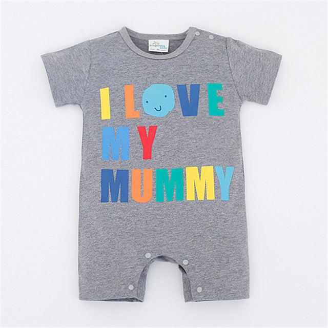 Baby Rompers Summer Baby Boy Clothes 2017 Newborn Baby Clothes Roupas Bebe Infant Jumpsuits Kids Clothes Baby Boy Clothing Sets-eosegal