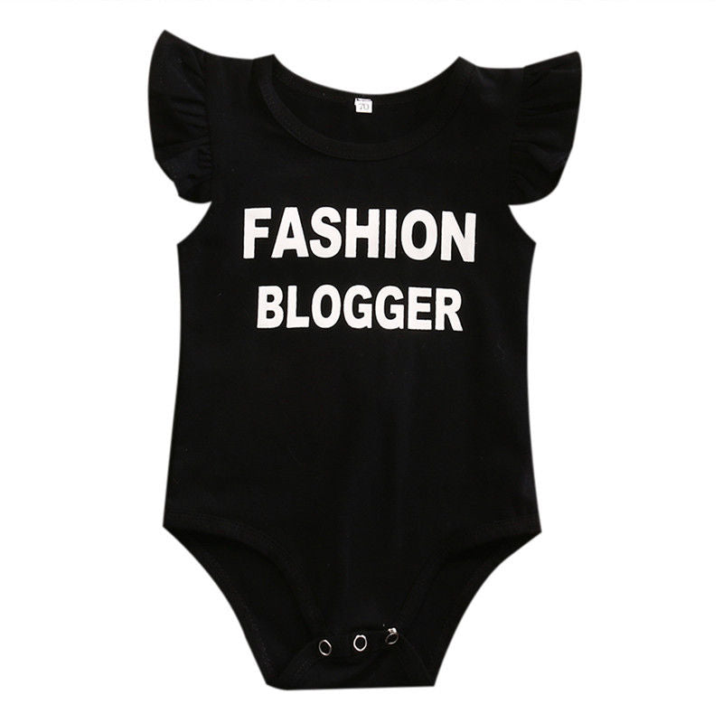 Toddler Infant Baby Boys Girls Bodysuit Black Children Clothing Boy Girl Costume Bodysuits Jumpsuit Outfits Sunsuit Clothes-eosegal