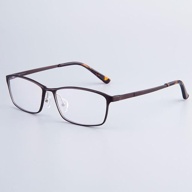 Fashion Brand Designer Business Men Frame Full-Rim Eyeglasses Frames Women Hydronalium Glasseseosegal-eosegal