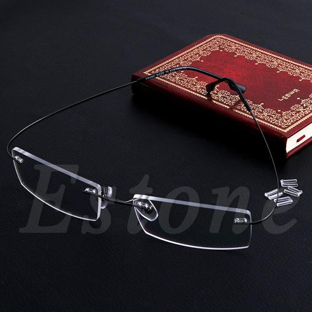 Fashion Metal Rimless Eye Glasses Eyeglasses Frame Spectacle Frames Lightweighteosegal-eosegal