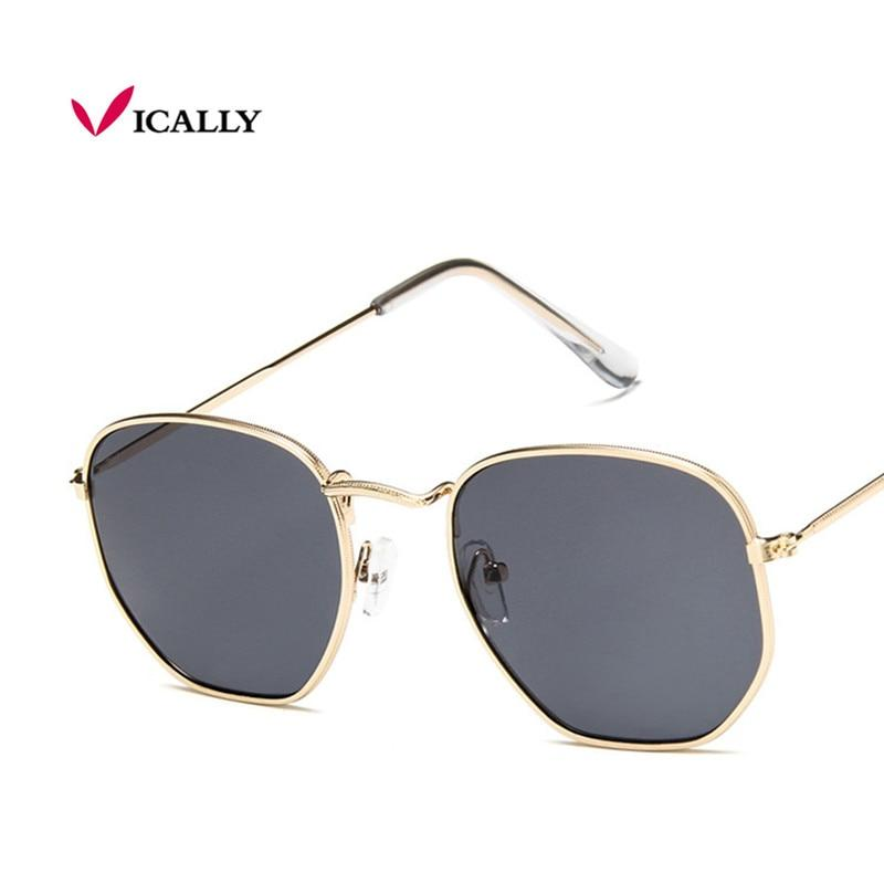 2017 brand designer square sunglasses women men retro sun glasses frame womeneosegal-eosegal
