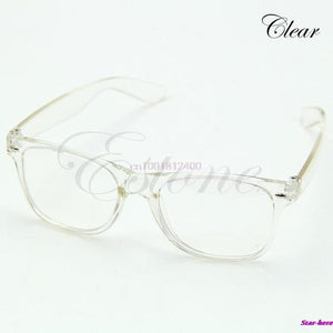 Fashion Glasses Cool Unisex Clear Lens Nerd Geek Glasses Eyewear For Meneosegal-eosegal