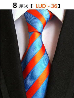 Fashion Trend Men Tie 100% Jacquard Woven Silk Mens Ties Necktieeosegal-eosegal
