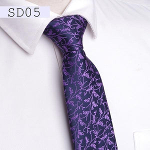 Men ties 7cm gift necktie Men's vestidos business wedding tie Male Dresseosegal-eosegal