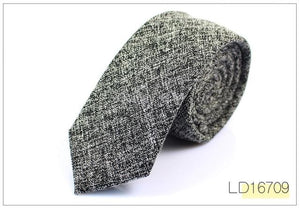 New cotton tie Korean men's Necktie Classic Narrow Version 6cm Male Suiteosegal-eosegal