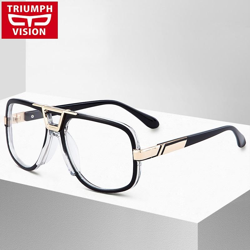 High Quality Square Eyewear Frames Men Clear Lens Eyeglasses Fashion Piloteosegal-eosegal