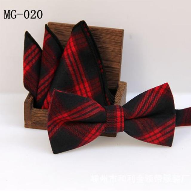 England Style Men Bowtie Pocket Square Towel Handkerchief Formal Wear Businesseosegal-eosegal