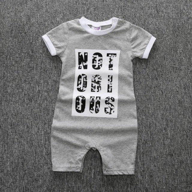 Baby One Piece bodysuit Clothes For Boys & Girls Newborn Rompers Short Sleeve Cotton Infant Jumpsuit-eosegal