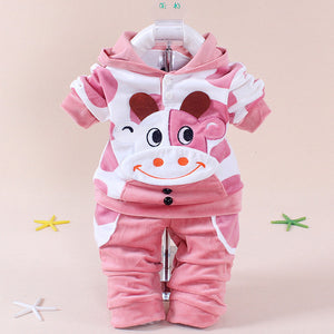 Summer Girls Boys Clothes Kids Set Velvet Hello Kitty Cartoon T Shirt Hoodies Pant Twinset Long Sleeve Velour Children Clothing-eosegal