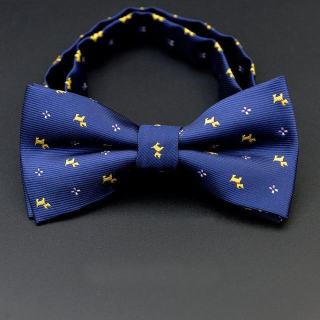 Men Bow Ties 2017 Newest Polyester Bow Tie Brand Male Polka Doteosegal-eosegal