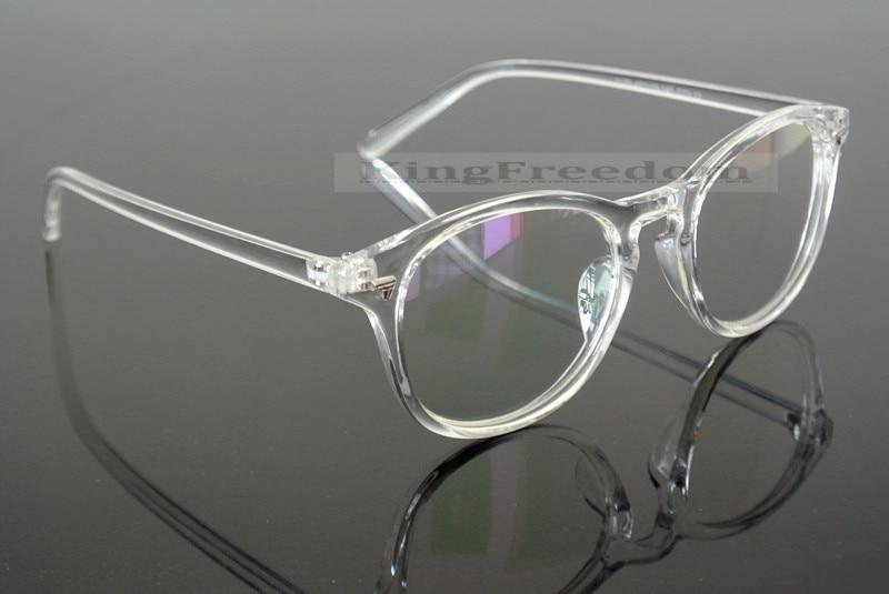Vintage Eyeglass Frame Retro clear transparent Full Rim Plain Glasses Spectacleseosegal-eosegal