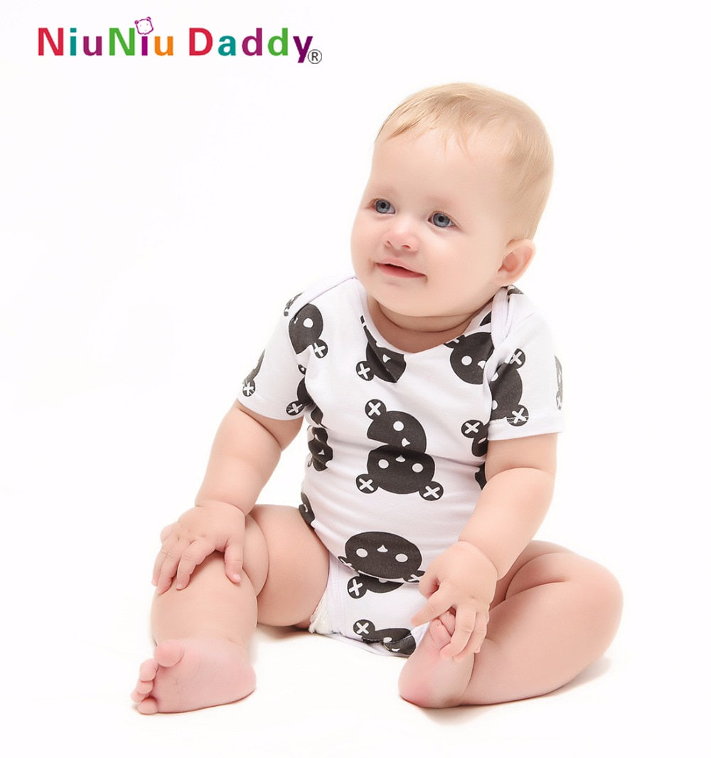 Baby Romper Short Sleeve Cotton Baby Boy Girl Clothes Baby Wear Jumpsuits Clothing Set Body Suits-eosegal