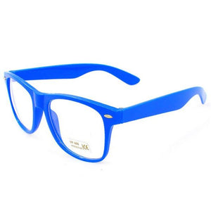 Fashion Candy Color Frame Eyeglasses Nerd Glasses 9 Colors Unisex Men Womeneosegal-eosegal