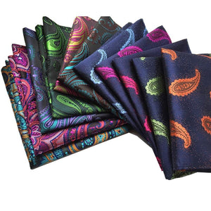 Vintage Men's Paisley Handkerchief Floral Pocket Square Business Chest Towel Hankyeosegal-eosegal
