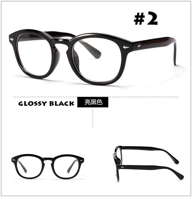 2017 New Fashion Brand Johnny Depp Glasses Vintage Round Optical Eyeglasseseosegal-eosegal