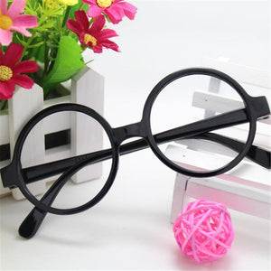 Parenting Mother and Daughter Classic Retro Round Eyeglass Frame Ala Lei Cuteeosegal-eosegal