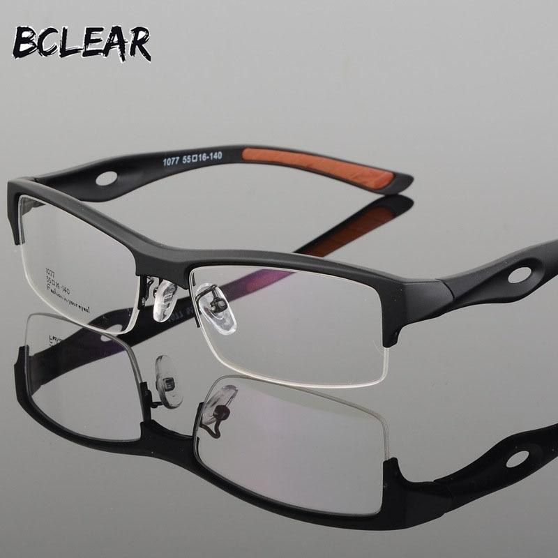 Spectacle Frame Attractive Mens Distinctive Design Brand Comfortable TR90 Half Frameeosegal-eosegal
