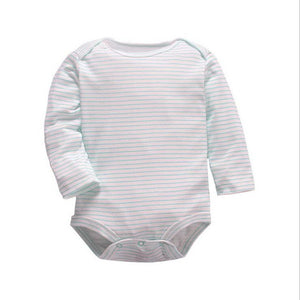 2016 New Bodysuits For Baby Girls Long Sleeve Body Infant Bebe Boys Striped O-neck Spring Fall Winter Brand Clothing Underwear-eosegal