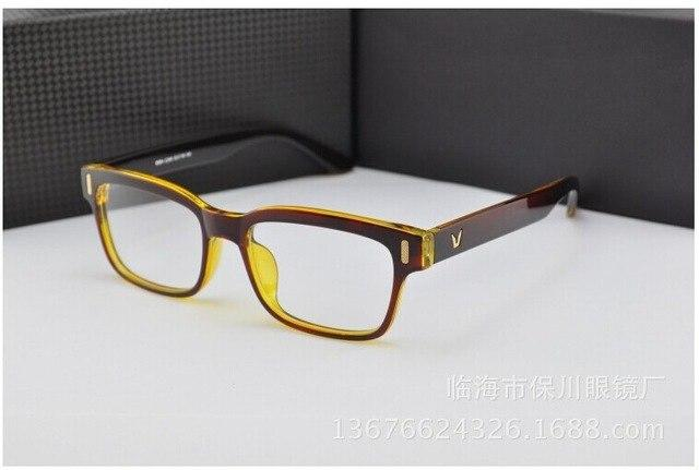 2017 Fashion V-Shaped Box Eye Glasses Frames Brand For Men New Womeneosegal-eosegal