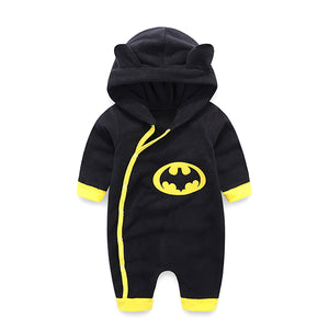 Newborn Baby Clothes Warm Baby Rompers Long Sleeve Baby Boy Clothing Autumn Winter Baby Boy Jumpsuit Roupas Bebes Infant Costume-eosegal
